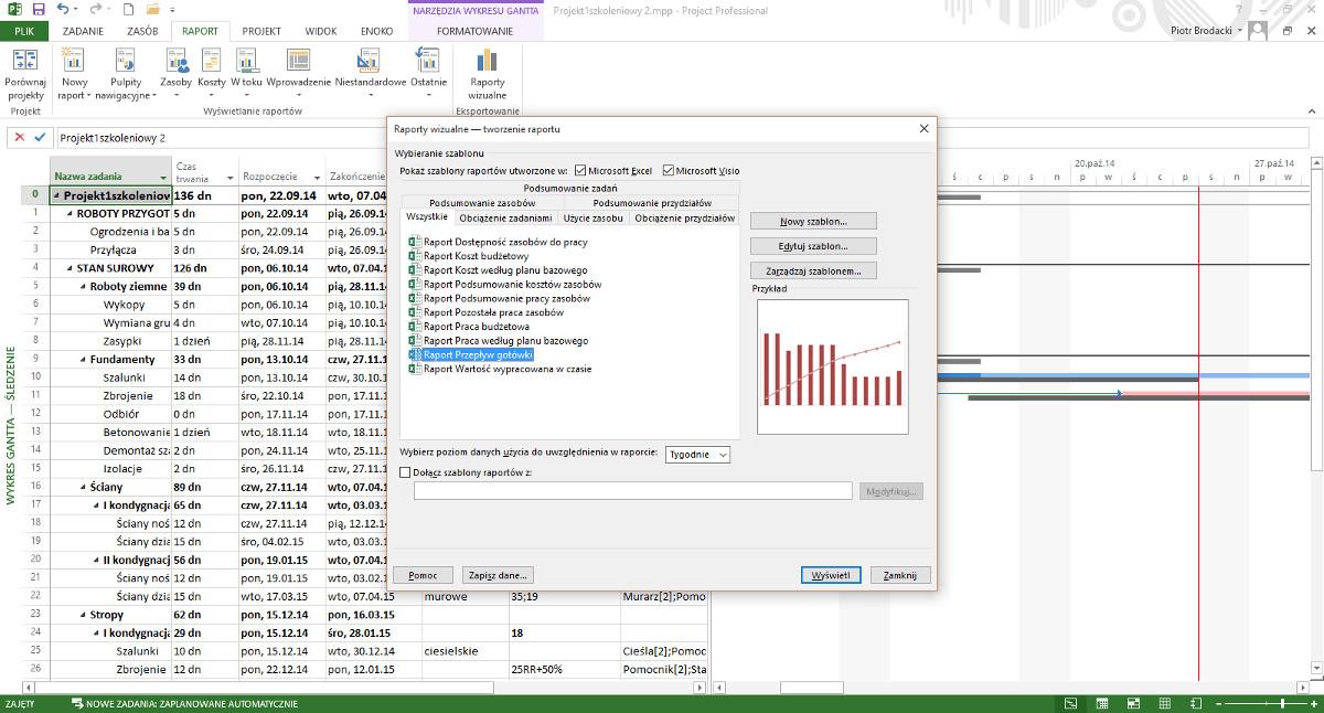 Microsoft project sprawd zastosowanie w zarzdzaniu projektami microsoft project 2013 tworzenie raportw ccuart Image collections